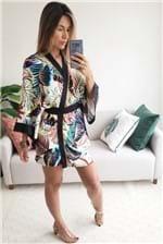 Vestido Kimono Farm Costa Rica - Offwhite