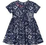 Vestido Lilica Ripilica Azul Bebê