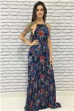 Vestido Longo Bebel Cantão - P