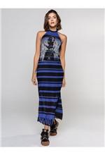 Vestido Longo de Tule com Silk Visionary Infinity - 38
