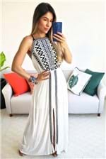 Vestido Longo Dress To Bordado Pb