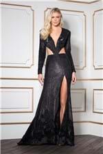 Vestido Longo Mariah - Preto 34