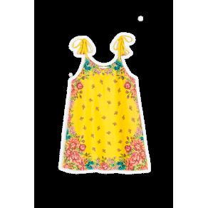 Vestido Malha Maria Est Maria Amarelo - 2