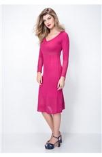 Vestido Mid Pink Pink