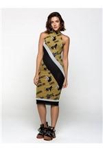 Vestido Midi de Tule com Silk Caos Making Vestido Curto de Tule com Silk Caos Making e Trans - 38