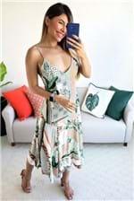 Vestido Midi Dress To Estampa Yasmine