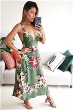 Vestido Midi Farm Lanikai - Verde