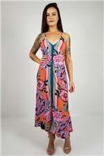 Vestido Midi Flor Iris Farm - M