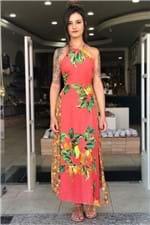 Vestido Midi Taiti Farm - P