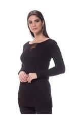 Vestido Modal Tricot Preto