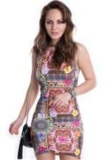 Vestido Montaria Estampado VE1264 - P