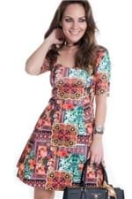 Vestido Neopreme Estampado VE1260 - M