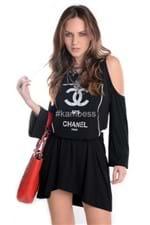 Vestido Ombro Caído Chanel VE1162 - P