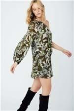 Vestido Ombro só Flor Safari Est Flor Safari - 36