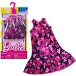 Vestido P/ Barbie Roxo Corações Fct12/Dxb02 Mattel