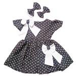 Vestido para Bonecas Laura Doll (poá)
