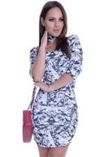 Vestido Raglã com Gola VE1515 - P