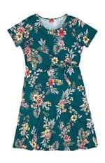 Vestido Recorte Ajustável Frontal Wee! Verde Escuro - GG