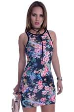 Vestido Regata com Estampa Floral VE0935 - M