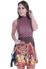 Vestido Regata com Gola Rolê VE1441 - G