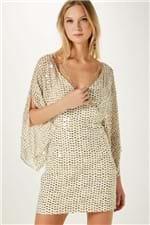 Vestido Seda Curto Broderie Broderie - 36