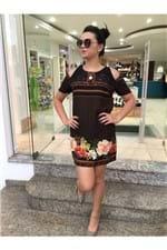 Vestido T-shirt Frescor de Abacaxi Farm - P
