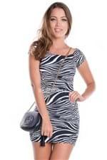 Vestido Tubinho Zebra VE1209 - M