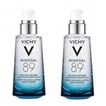 Vichy Mineral 89 50ml Hidratante Facial 2 Unidades