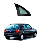 Vidro Porta Traseira Fixo Fiesta 4 Portas 96/02 Lado Direito