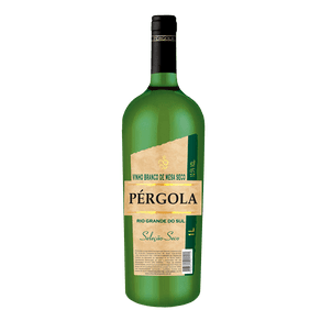 Vinho Brasileiro Pérgola Branco Seco 1l