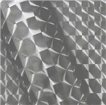 Vinil 3D Transparente Fumê 145g 1,40mtx50mts