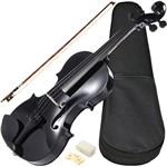 Violino Sverve 20001 Ronsani 4/4 Preto Basswood 4 Microafinadores Quexeira Died Maple - Giannini