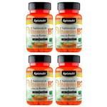 Vitamina B7 (Biotina) - 4 Un de 60 Cápsulas - Apisnutri
