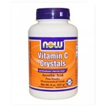 Vitamina C Crystals 227g - Now Foods