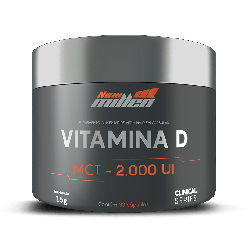 Vitamina D (30 Caps) - New Millen