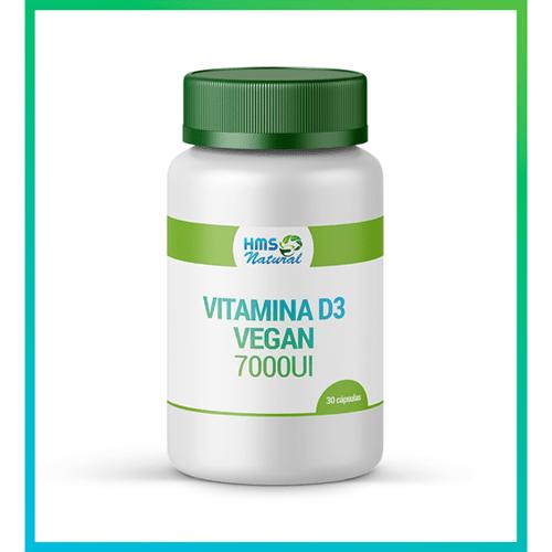 Vitamina D3 7000ui Cápsulas Vegan 30 Cápsulas Oleosas
