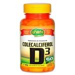 Vitamina D3 Colecalciferol 60 Cápsulas Vegetarianas - Unilife