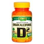 Vitamina D2 Ergocalciferol (500mg) 60 Cápsulas Vegetarianas - Unilife