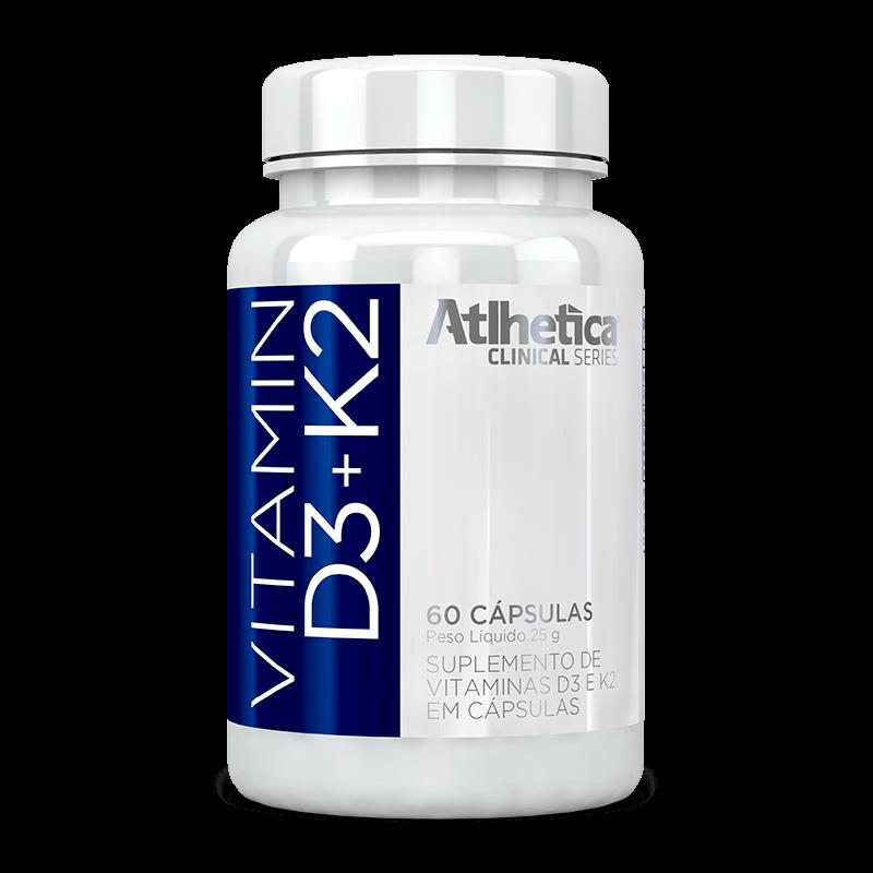 Vitamina D3+ K2 (60caps) Atlhetica Nutrition