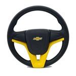 Volante Cruze Amarelo Corsa Joy Astra Vectra 99 em Diante