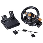 Volante Ps2/Ps3/Pc Multilaser Racer Gamer Js074