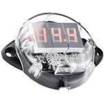 Volimetro Digital Taramps Faixa de Medição 5V a 30V VTR1000