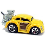 Volkswagen Beetle - Carrinho - Hot Wheels - Tooned - 07/10 - 172/365 - 2015 - Dvb38