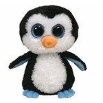 Waddles Pelúcia Beanie Boos Pinguim Bebê - Dtc 3512