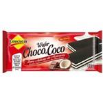 Wafer Chocolate com Côco Zero Açúcar Lowçucar 115g