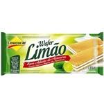 Wafer Limão Zero Açúcar 115g Lowcucar