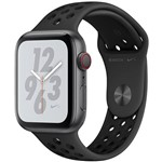 Watch Nike+ Series 4 Gps + Cellular 44mm Space Grey Aluminium Case With Anthracite/black Nike Sport Band
