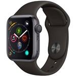 Watch Series 4 GPS 40mm Cinza Espacial Case With Preto Sport Band - Apple