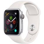 Watch Series 4 GPS 40mm Prata Case With Branco Sport Band - Apple