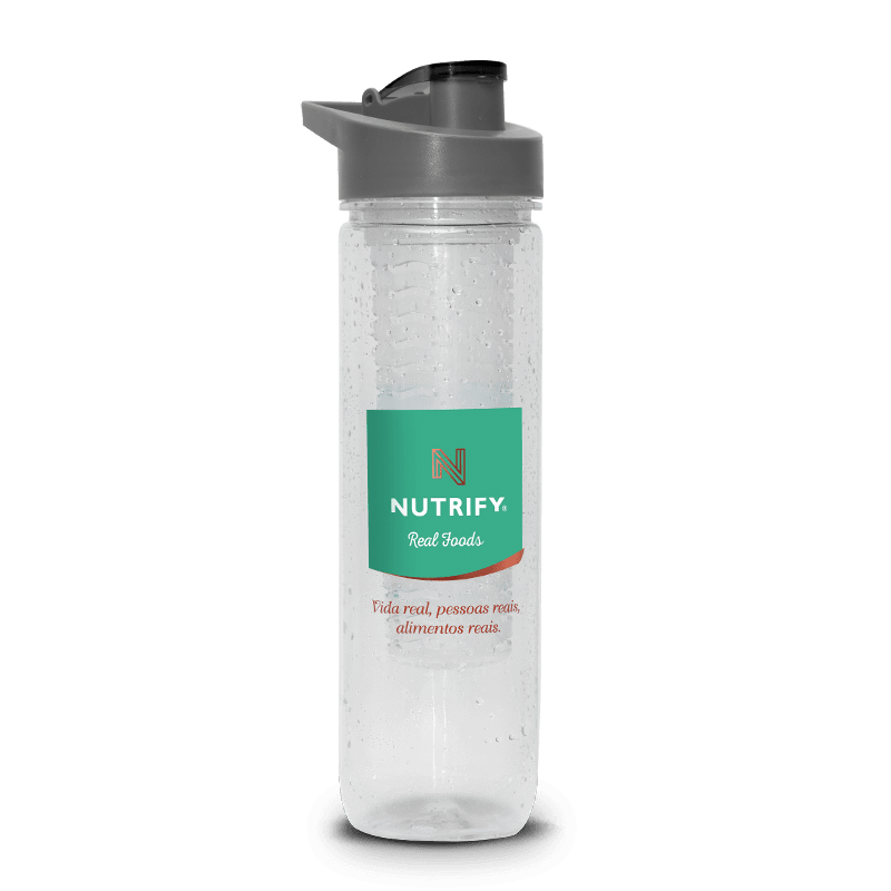 Water Bottle com Infusor (800ml) Nutrify